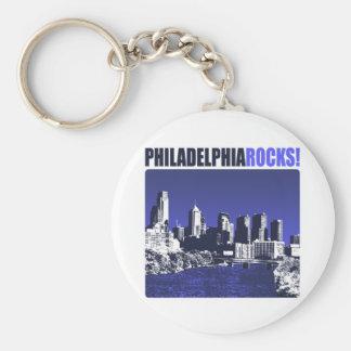 Philadelphia Rocks Keychain