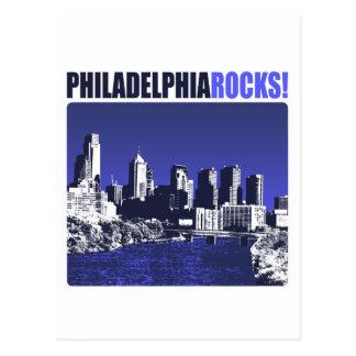Philadelphia Rocks Post Card