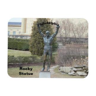 Philadelphia Rocky Statue Magnet