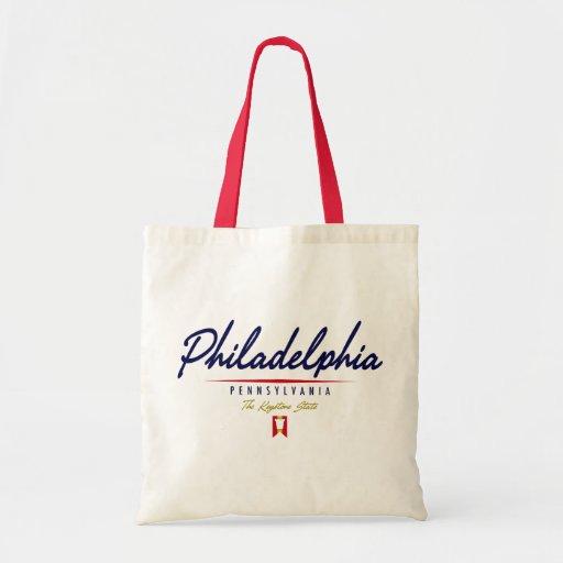 Philadelphia Script Bags