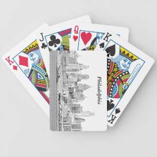 Philadelphia Sketch Playing Cards