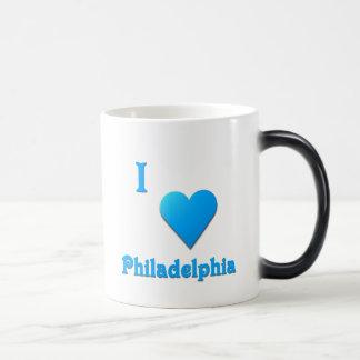Philadelphia -- Sky Blue Magic Mug