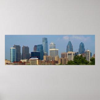 Philadelphia Skyline 12x36 POSTER