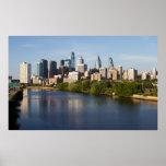 Philadelphia Skyline 1 Poster