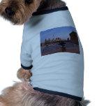 Philadelphia Skyline at Dusk Doggie T-shirt