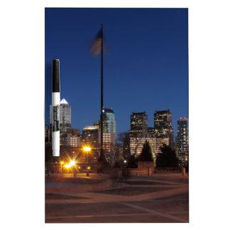 Philadelphia Skyline at Dusk Dry Erase Whiteboard