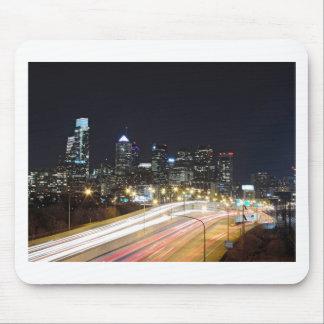 Philadelphia Skyline at Night Mousepad