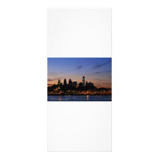 Philadelphia Skyline at Twilight Rack Card