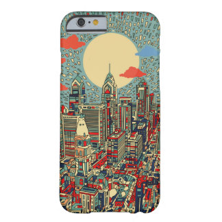 philadelphia skyline barely there iPhone 6 case