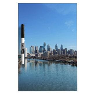 Philadelphia Skyline Dry-Erase Boards