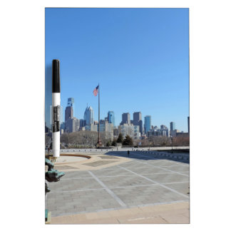 Philadelphia Skyline Dry-Erase Whiteboard