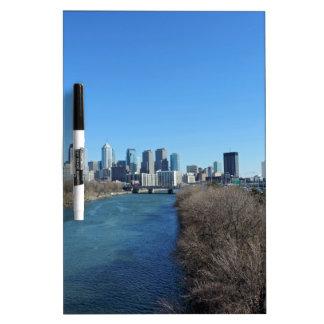 Philadelphia Skyline Dry-Erase Board