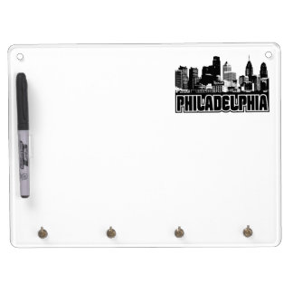 Philadelphia Skyline Dry Erase Boards