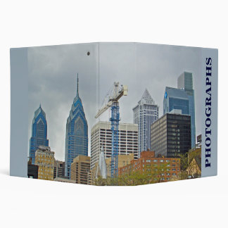 Philadelphia Skyline from the River Walk Vinyl Binder