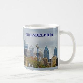 Philadelphia Skyline from the River Walk Classic White Coffee Mug