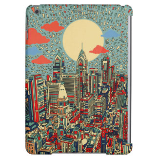 philadelphia skyline iPad air cover