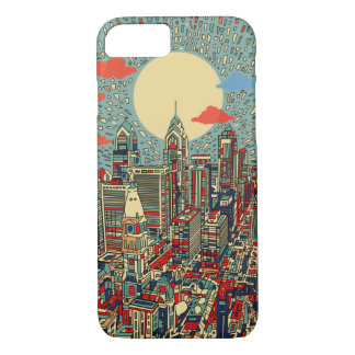 philadelphia skyline iPhone 7 case