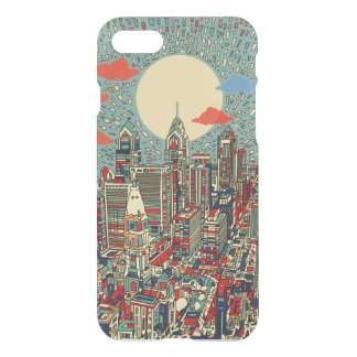 philadelphia skyline iPhone 8/7 case