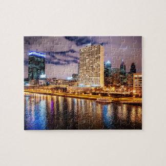 Philadelphia Skyline Jigsaw Puzzle