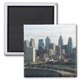 Philadelphia Skyline Refrigerator Magnets