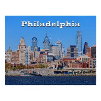 Philadelphia Skyline, Medium View II Postcard