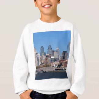 Philadelphia Skyline, Medium View Sweatshirt