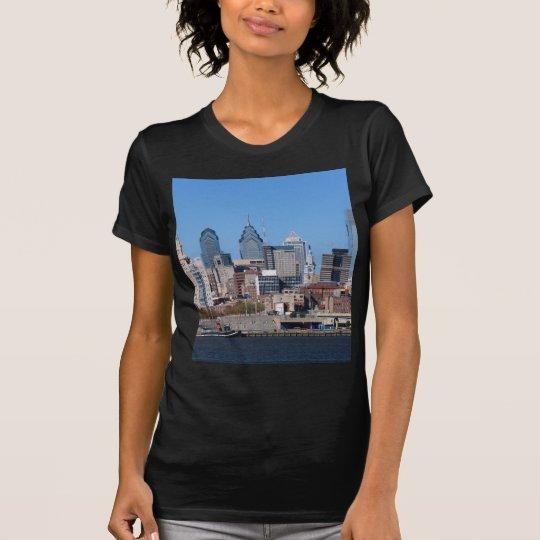 Philadelphia Skyline, Medium View T-Shirt