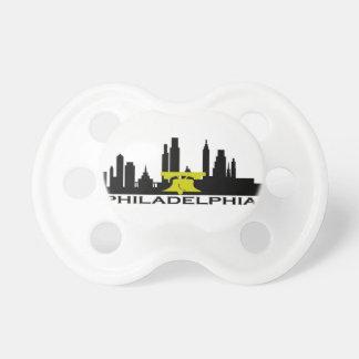 Philadelphia Skyline Pacifier
