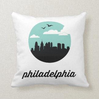 Philadelphia Skyline | Philadelphia Pennsylvania Throw Pillows