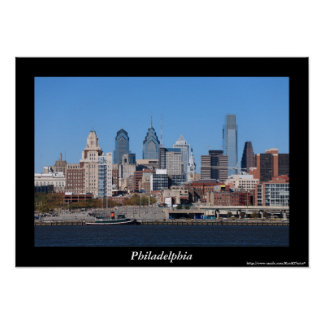Philadelphia Skyline Poster