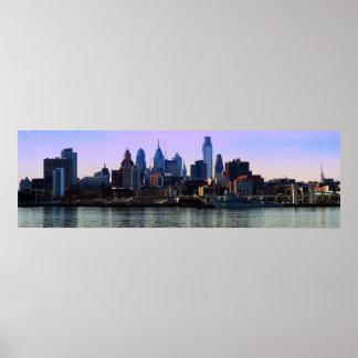 Philadelphia Skyline Print
