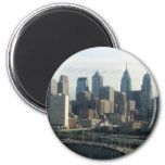 Philadelphia Skyline Refrigerator Magnets