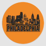 Philadelphia Skyline Stickers