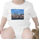 Philadelphia Skyline Tee Shirts