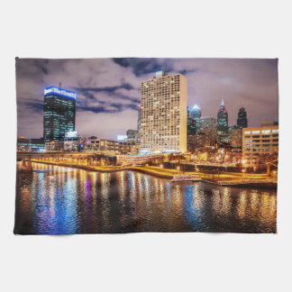 Philadelphia Skyline Towel