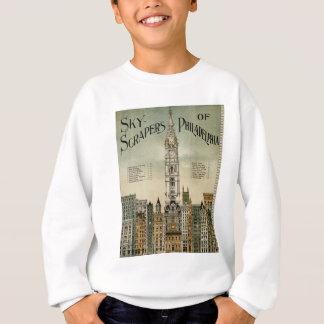 Philadelphia Skyscrapers (1898 Vintage Poster) Sweatshirt