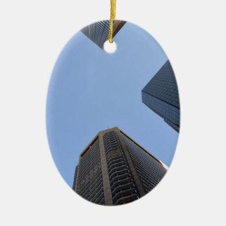 Philadelphia skyscrapers 2 ceramic ornament