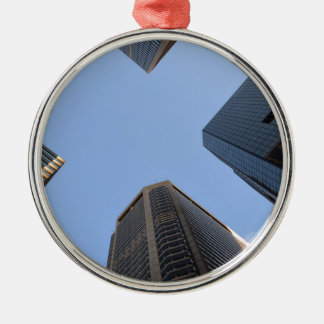 Philadelphia skyscrapers 2 metal ornament