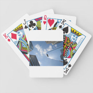 Philadelphia skyscrapers bicycle playing cards