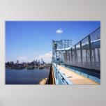 Philadelphia sobre el puente póster