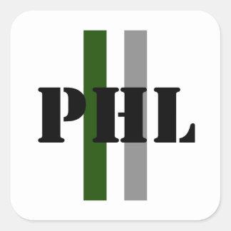 Philadelphia Square Sticker