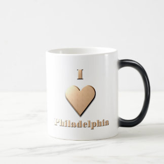 Philadelphia -- Tan Magic Mug