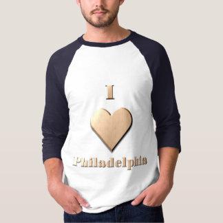 Philadelphia -- Tan T Shirt