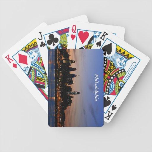 Philadelphia Twilight Playing Cards