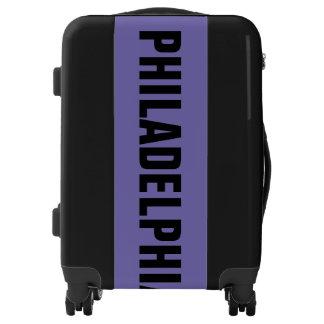 PHILADELPHIA, Typo black Luggage