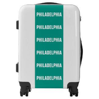 PHILADELPHIA, Typo white Luggage