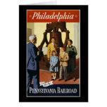 Philadelphia va por el ferrocarril de Pennsylvania Tarjetas
