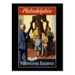 Philadelphia va por el ferrocarril de Pennsylvania Postal