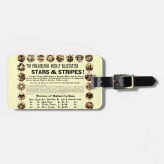 Philadelphia Weekly 1918 Stars & Stripes Newspaper Bag Tag