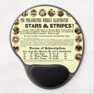 Philadelphia Weekly 1918 Stars & Stripes Newspaper Gel Mouse Mats